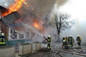 В Одессе произошел масштабный пожар: сгорели ресторан, кафе и аптека
