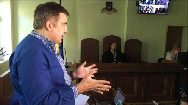 Саакашвили под домашним арестом