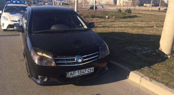 Очередное ДТП в Запорожье: пьяный в стельку водитель не справился с управлением