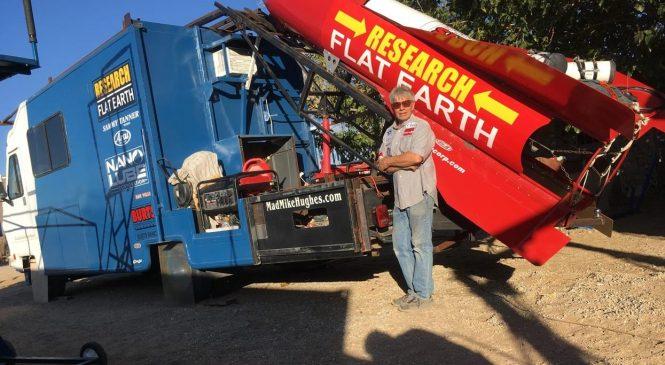 Обычный человек построил ракету чтобы  убедиться, что Земля не плоская