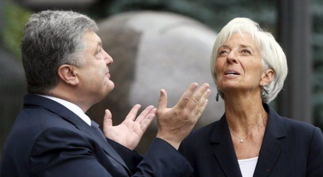 Порошенко и Лагард обсудят кредитование Украины в Давосе
