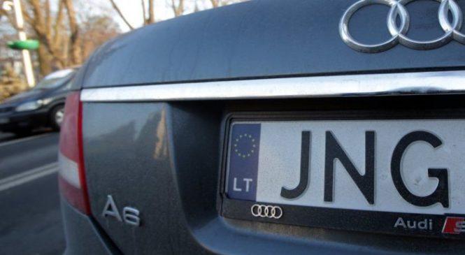 Владельцы авто с еврономерами смогут легализировать свои машины