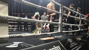 Чемпионский поединок: Александр Усик победил Майриса Бриедиса