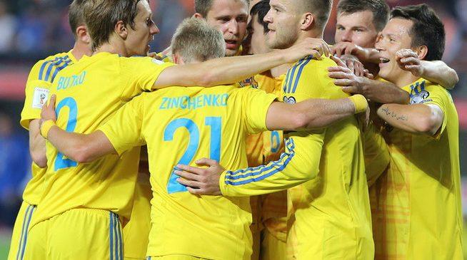FIFA обновила рейтинг: Украина сохранила 35 место