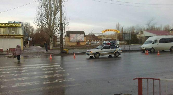 В Мелитополе женщина угодила под колеса «Ланоса»