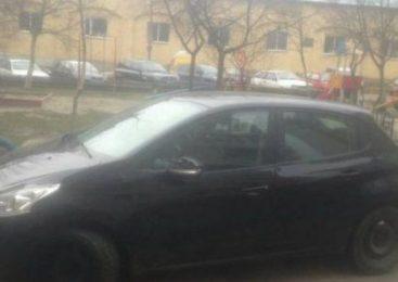 Женщина провезла на капоте патрульного во Львове, — ВИДЕО