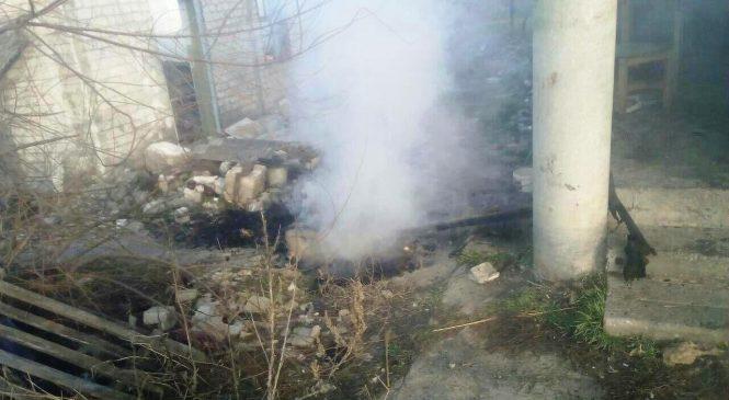 В Запорожской области спасатели во время тушения пожара спасли двух мужчин, — ФОТО