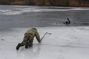 «Героический» улов. В Запорожской области парень спас односельчанина
