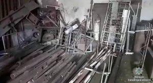 В Запорожской области обнаружили нелегальный пункт приема металла