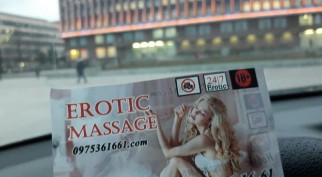 Интимный массаж для Запорожских чиновников или реклама борделей в центре города