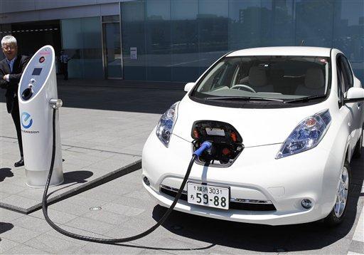 Количество поставок электромобилей в Украину резко возросло