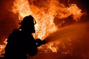 В Запорожской области во время тушения пожара нашли тело
