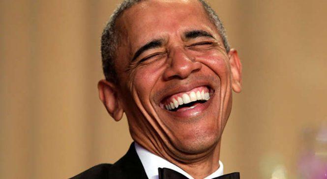 Обама постеснялся одной части своего тела