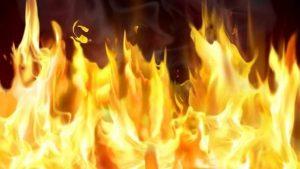 В Запорожье во время тушения пожара обнаружено тело