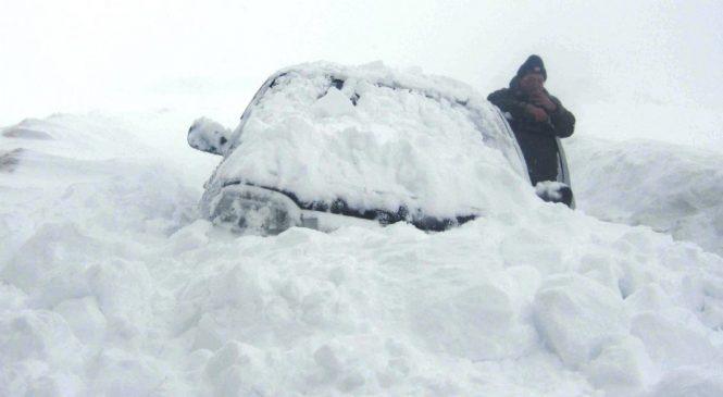 Как не замёрзнуть в метель если застрял в снегу
