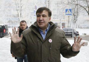 СМИ: Силовики увезли Саакашвили в неизвестном направлении