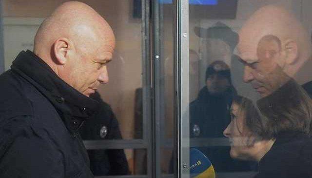 Труханова отпустили на поруки