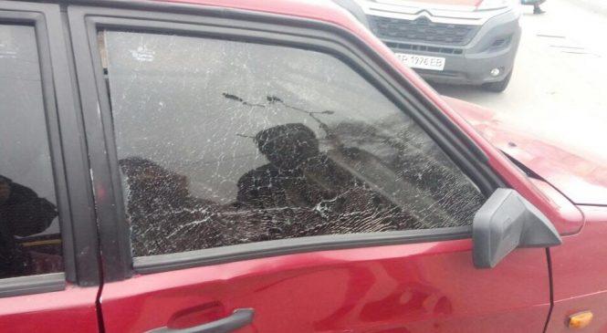 ДТП на Шевченковском: ВАЗ-2108 сбил мальчика перебегавшего дорогу на красный