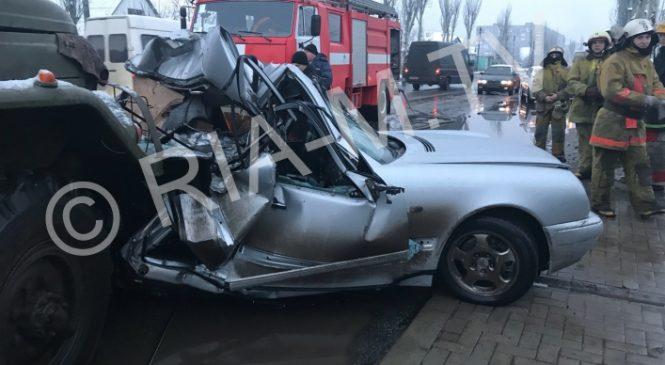 В Мелитополе произошло смертельное ДТП, — ФОТО