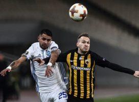 Лига Европы: Динамо увозит ничью из Афин