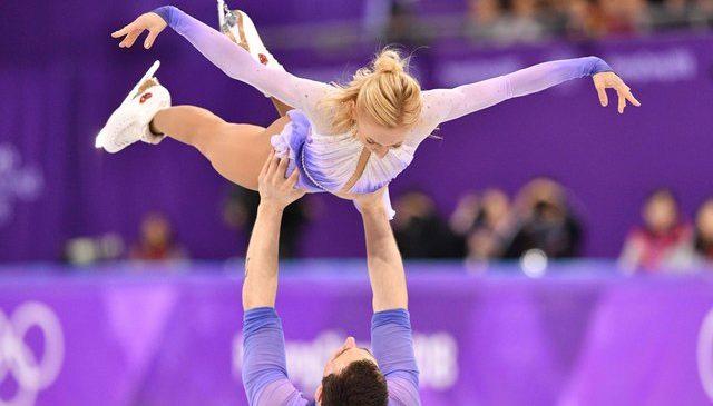 ОИ-2018: Украинка Алена Савченко выигрывает золотую медаль