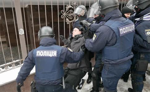Молчаливый полицейский протест