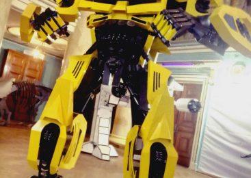 Новое развлечение для маленьких запорожцев — роботы и трансформеры рядом с нами, — ФОТО