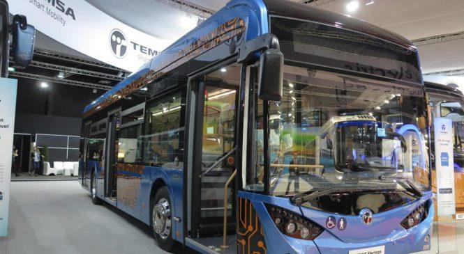 Электробус Temsa Avenue Elektron может появиться в Украине