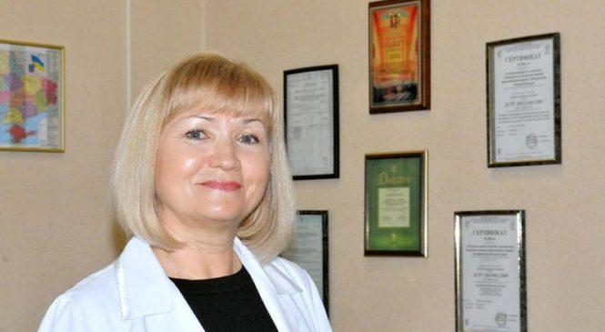 Верховная рада отметила заслуги руководителя Запорожской областной станции переливания крови