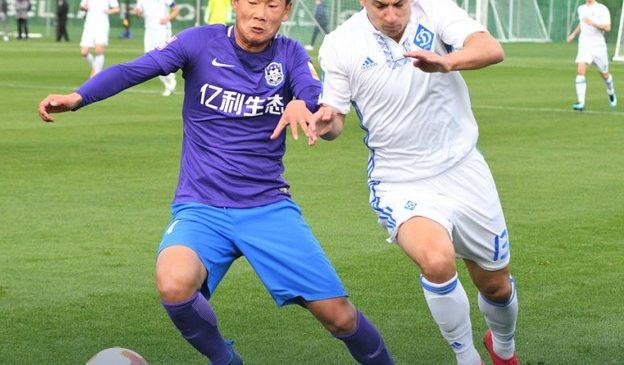 Динамо обыгрывает Тяньцзинь Тэда накануне старта в плей-офф Лиги Европы
