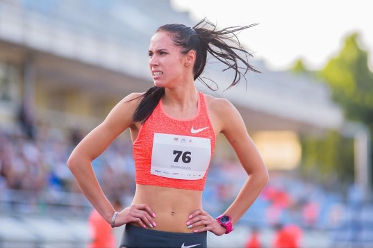 Запорожская легкоатлетка завоевала серебряную медаль чемпионата Украины