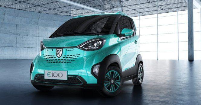 Сколько стоит новый китайский электромобиль ?