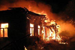 В Запорожской области во время пожара погиб владелец дома