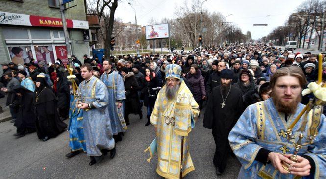 Крестный ход УПЦ МП в Запорожье рискует стать причиной массовых беспорядков