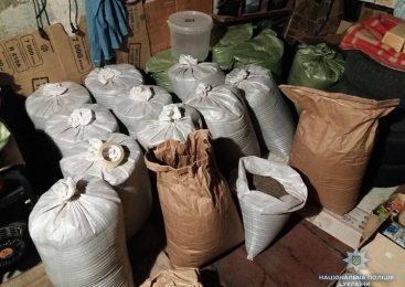 В Запорожской области полицейские изъяли 500 кг наркотиков,- ФОТО
