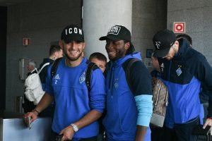 Динамо прилетело в Грецию на матч с АЕКом