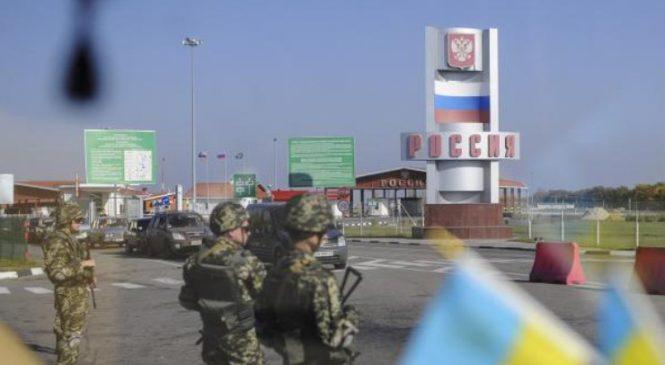 Россия не пропускает Украинские грузовики