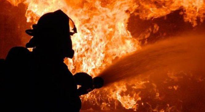 Жителя Запорожской области из-за неосторожного обращения с огнем спасали пожарные