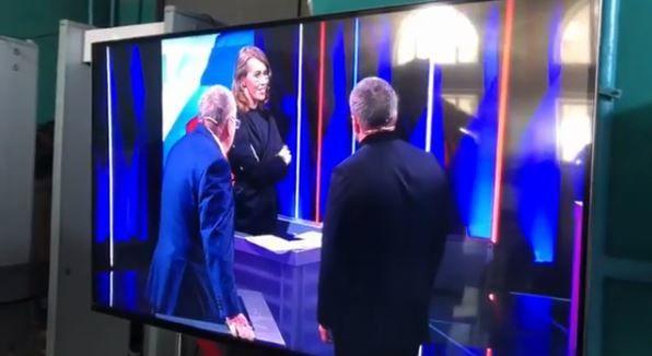 Как Собчак прокомментировала скандал с Жириновским на теледебатах