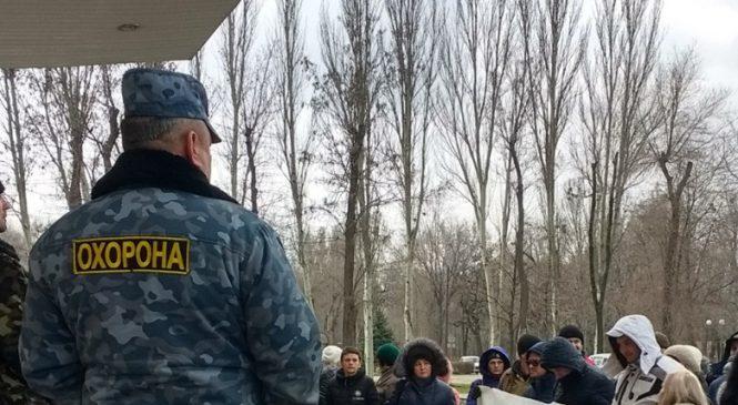 Запорожские СМИ и представителей бизнеса просят поддержать акцию протеста