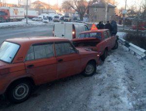 В ДТП на «тёщином языке» пострадали 3 авто