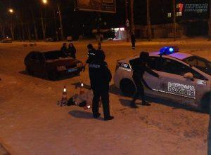 В Запорожье на остановке обнаружили замерзший труп