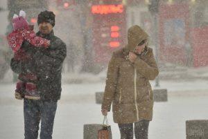 Штормовое предупреждение! В Запорожской области ожидается снег с дождем и метели
