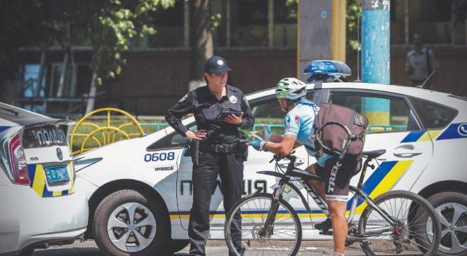 «Весенний день велосипедом на работу». В Запорожье пройдет акция совместно с патрульной полицией