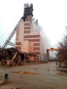 Пожар на Запорожском железорудном комбинате: пострадавшие госпитализированы