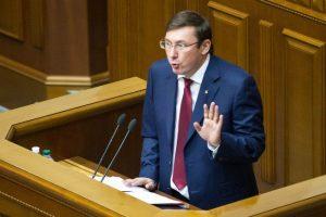 Луценко: Кортеж президента Украины хотели атаковать используя крупнокалиберную винтовку «Топаз»