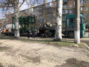 В Запорожье фура оборвала контактную троллейбусную сеть ,- ФОТО
