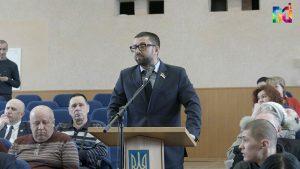 В горсовете произошла ротация депутатов-укроповцев