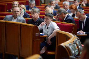 Верховная Рада сняла неприкосновенность с Савченко и разрешила ее арест