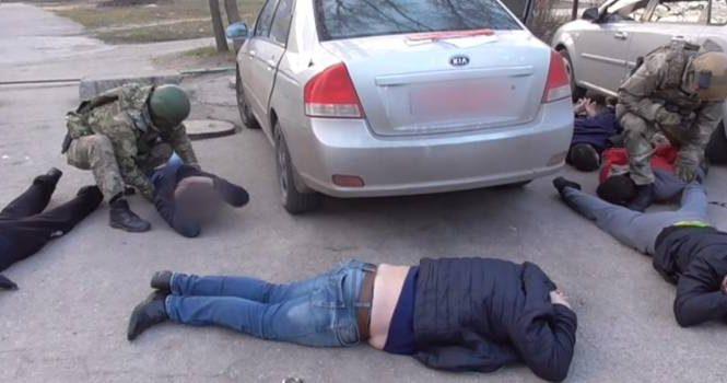 В Энергодаре задержана банда вымогателей